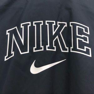 Women's black and cream Nike jacket